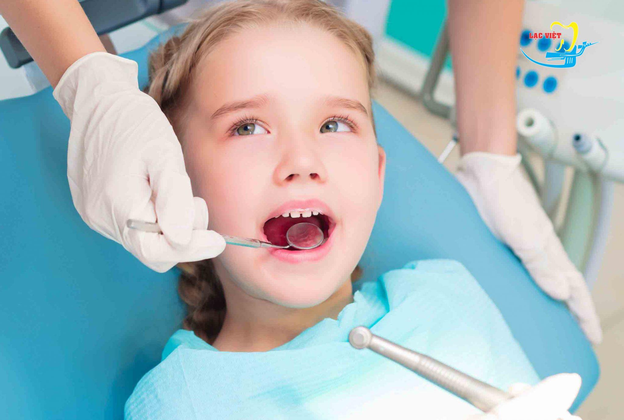 Tẩy trắng răng không áp dụng cho đối tượng trẻ nhỏ