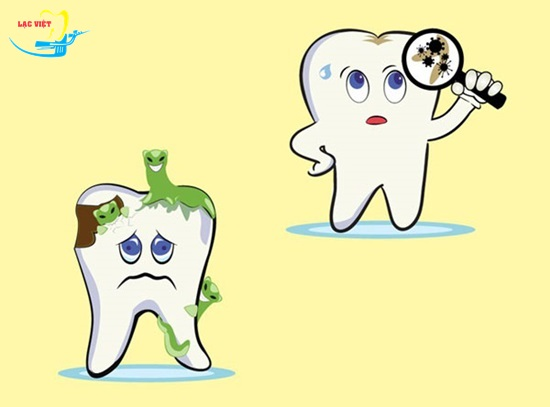 Trẻ bị sâu răng hàm