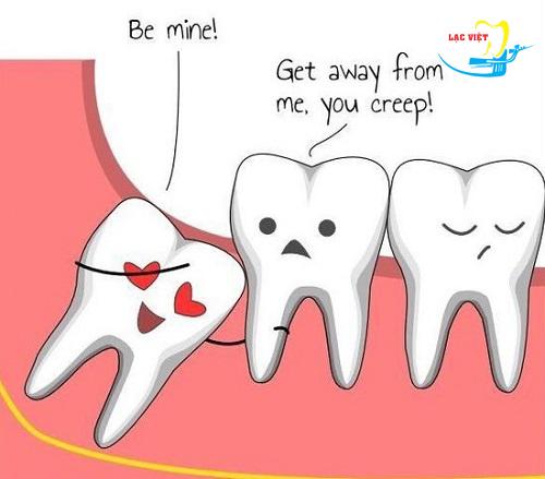 Thwucj sự thì khi không nhổ răng khôn mọc lệch cso sao không