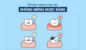 Trường hợp nào không được niềng răng?