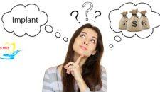 Giá làm răng implant bao nhiêu tiền?