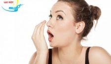 Trồng răng sứ có bị hôi miệng không?